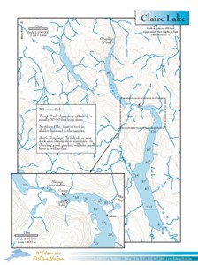 Claire-Lake-Yukon-Canada-Map