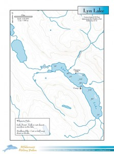 Lyn-Lake-Yukon-Canada-Map