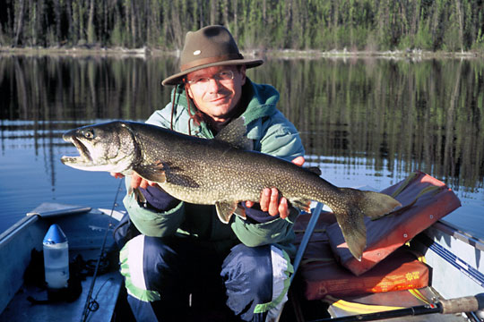 Spincast Fishing in the Yukon